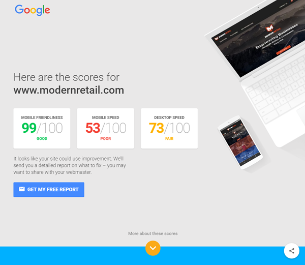 Test My Site with Google – Help & Resource Center
