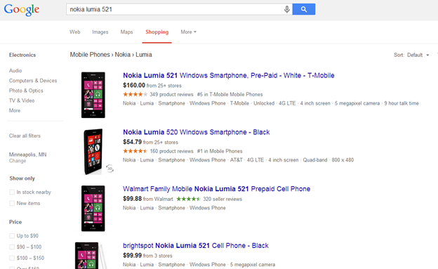 Ratings & Reviews in Google Search & Shopping – Help